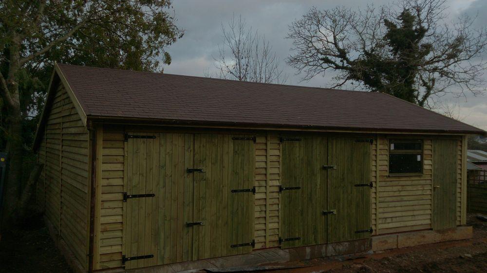 Standard Garage Doors Warwick Timber Garages