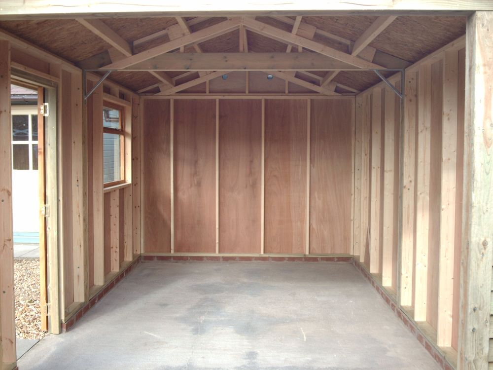 12ft Partition Warwick Timber Garages