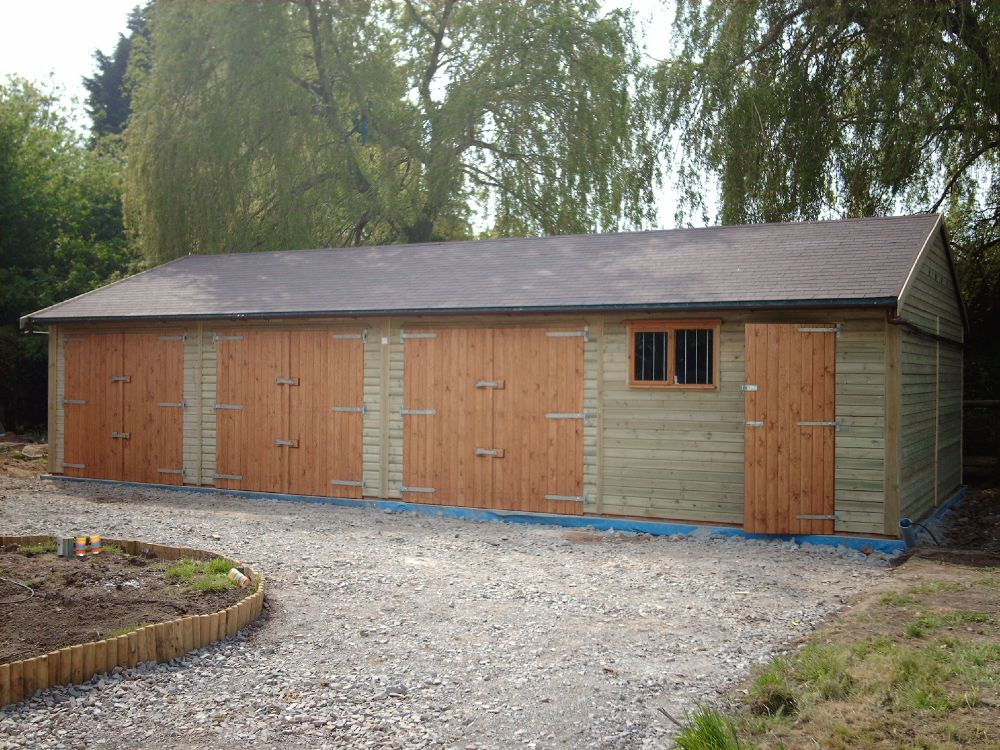 40 X 20 Garage With Workshop Warwick Timber Garages