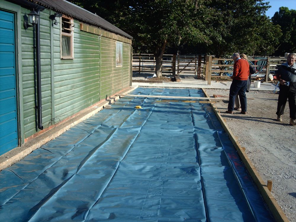 Warwick Garages Groundwork Bases Concrete Base For