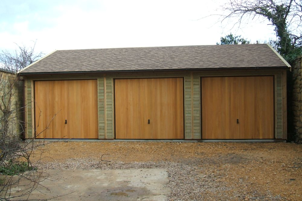 Warwick garages warwick garage timber garages Triple car garage house plans