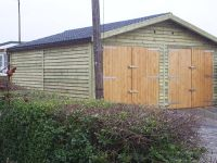20 x 20 Garage with Recycled Tiles
