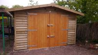 10 x 20 Garage in Feather Edge - 2.5m high