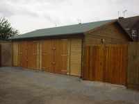 26 x 20 Garage with standard double doors