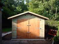 10 x 16 Garage with Standard Doors