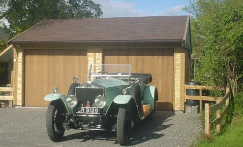 It is well known by Classic Car enthusiasts that Timber Garages provide the perfect environment to protect and store motor vehicles of any kind. 